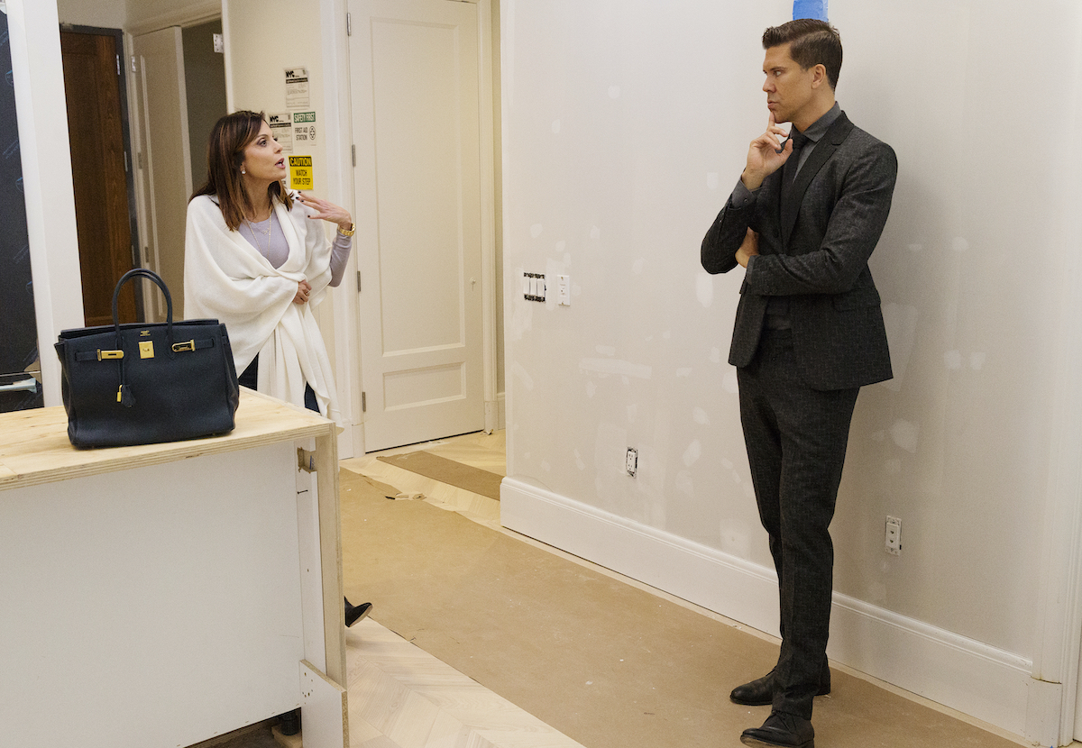 Bethenny Frankel and Fredrik Eklund debate a real estate sale