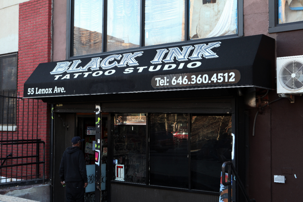 Black Ink tattoo studio, home of VH1's television show 'Black Ink Crew'