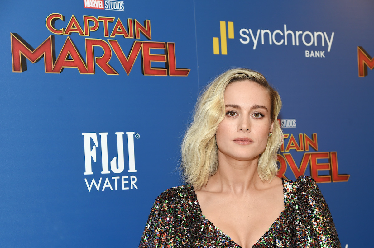 Brie Larson attends a 'Captain Marvel' screening in New York City