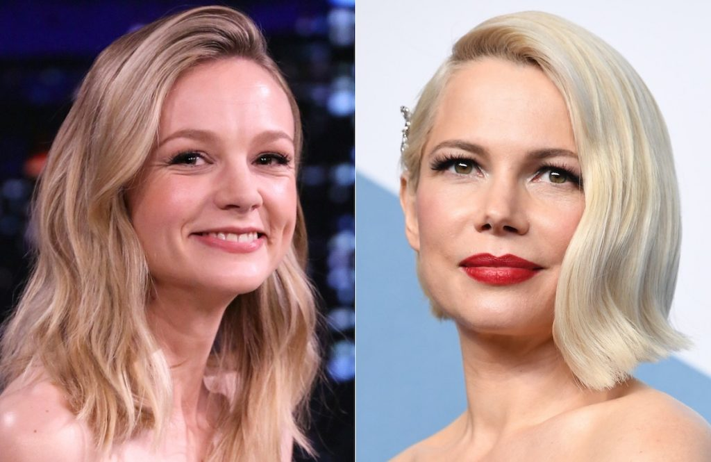 Carey Mulligan (L) and Michelle Williams (R)