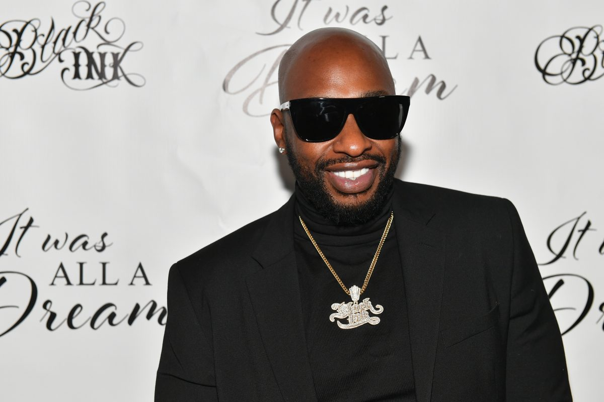 """Ceaser Emanuel of Black Ink Crew attends """"It Was All A Dream"""" Black Ink Gallery And Silent Auction"""