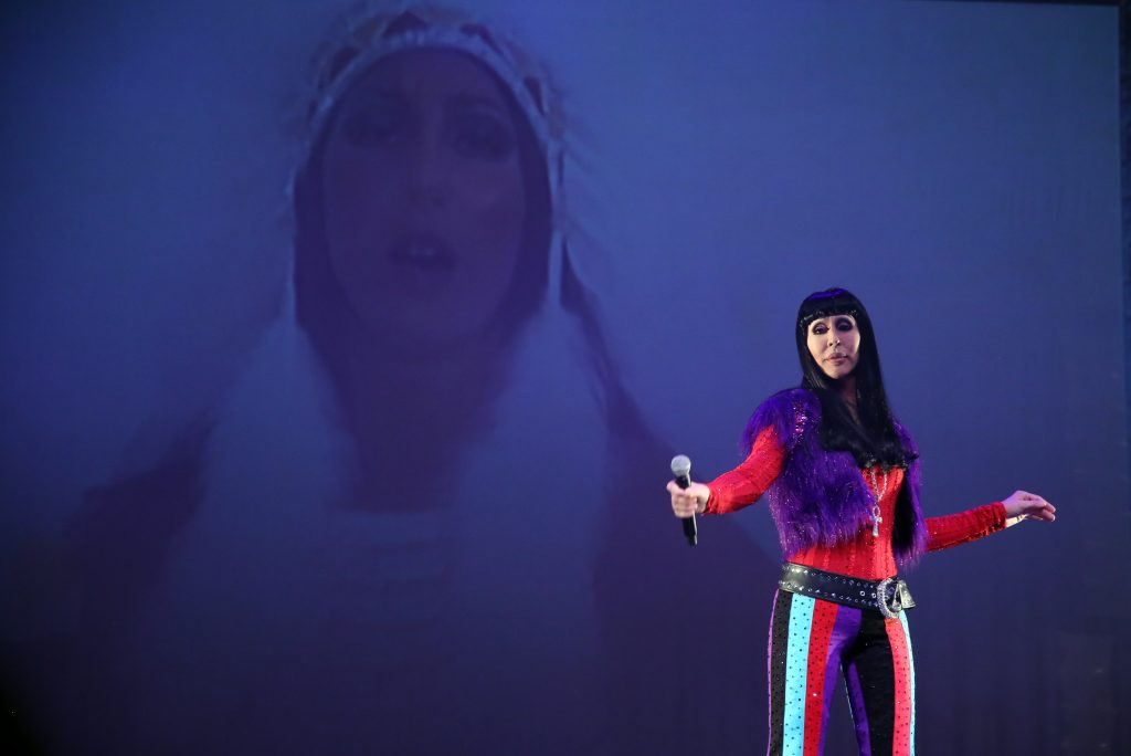 Chad Michaels performs a CHER Tribute Concert at Kennedy Center