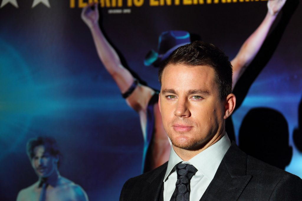 Channing Tatum attends the European premiere of 'Magic Mike' at the Mayfair Hotel on July 10, 2012, in London, England