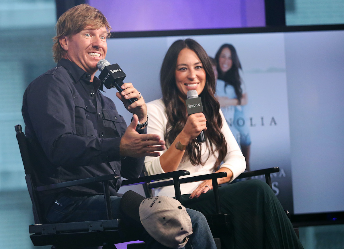 Chip and Joanna Gaines appear on the BUILD series from AOL