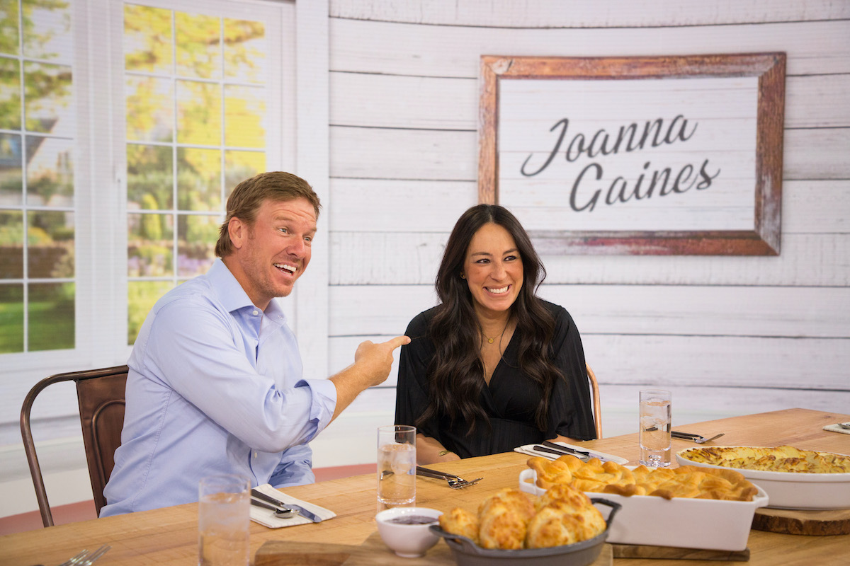 Chip and Joanna Gaines appear on The Today Show