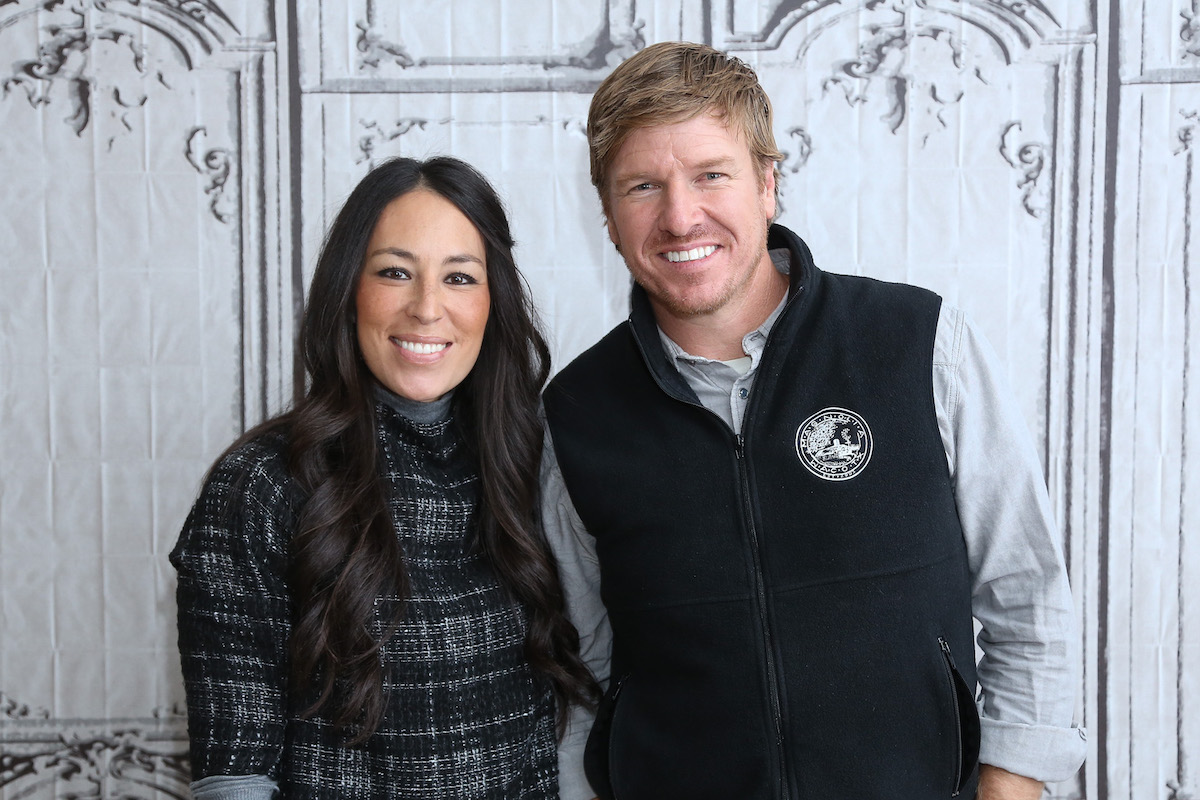 Chip and Joanna Gaines attend a BUILD AOL event in New York City