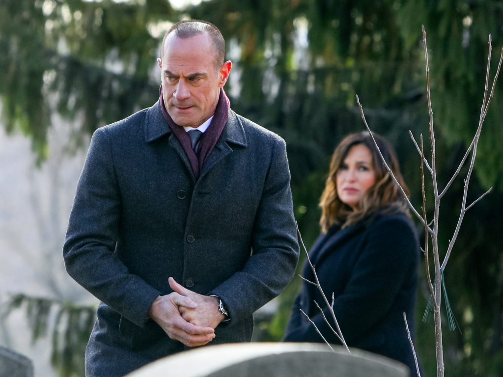 Christopher Meloni on the set of the 'Law and Order: Organized Crime' | Jose Perez/Bauer-Griffin/GC Images