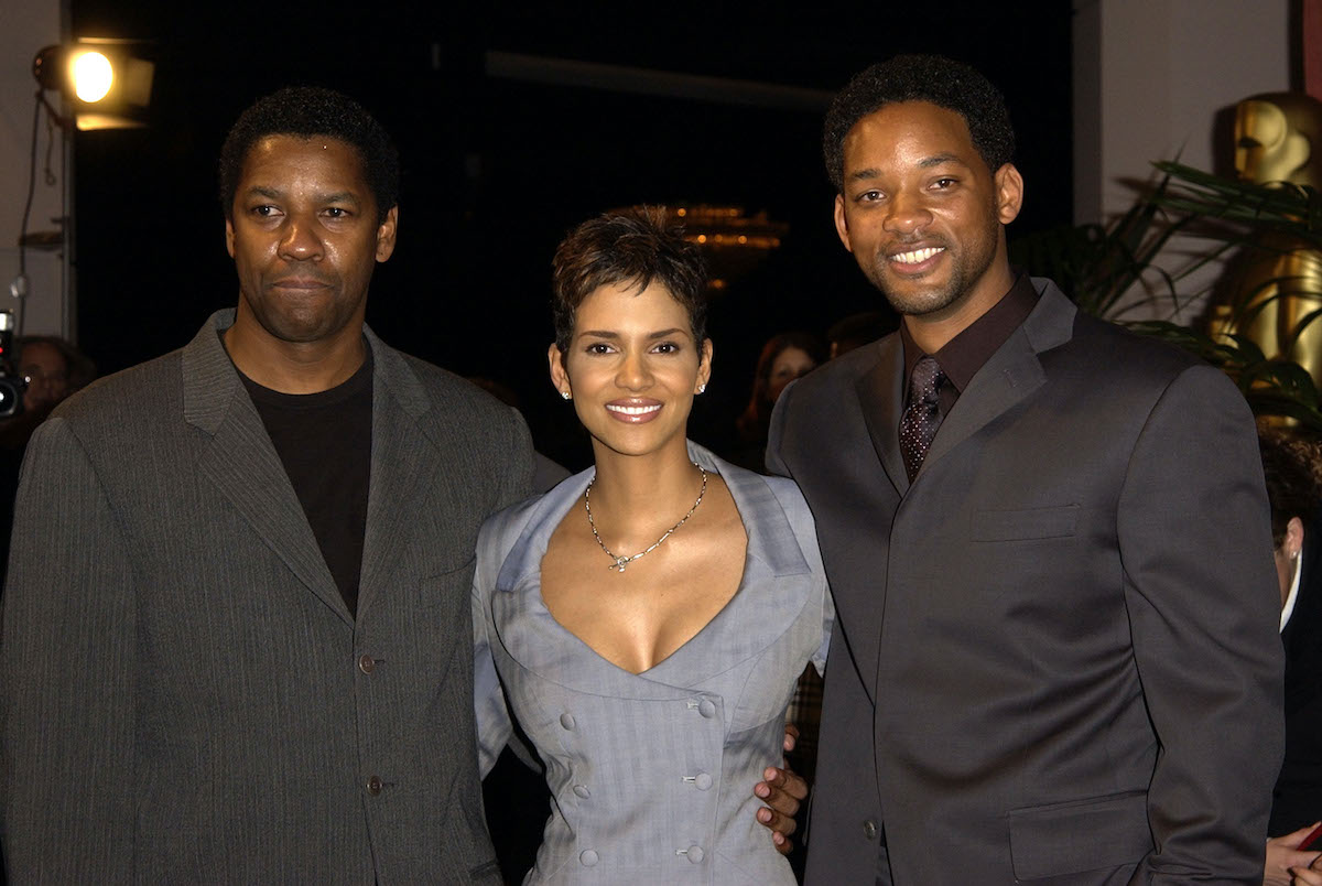 Denzel Washington, Halle Berry, and Will Smith during The 74th Annual Academy Awards Nominees Luncheon
