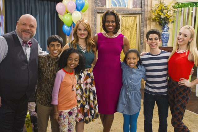 Michelle Obama Hugged Cameron Boyce While Filming This Episode of Disney Channel's 'Jessie'