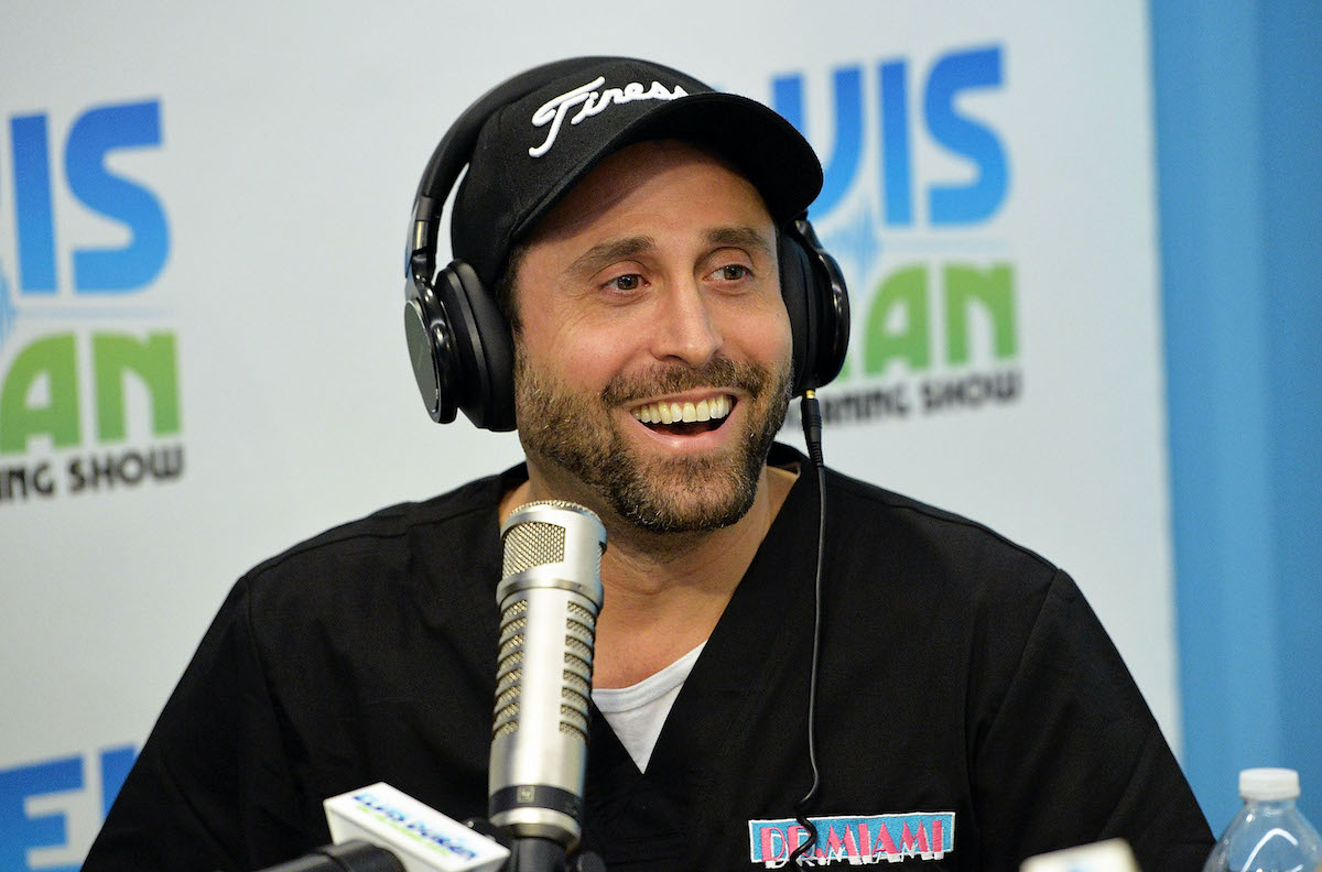 Dr. Miami visits The Elvis Duran Z100 Morning Show in 2016