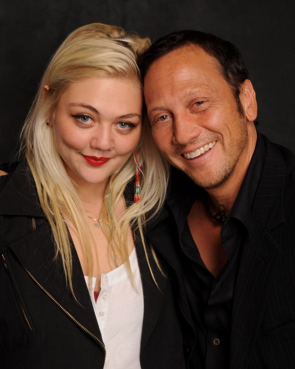 Elle King and Rob Schneider