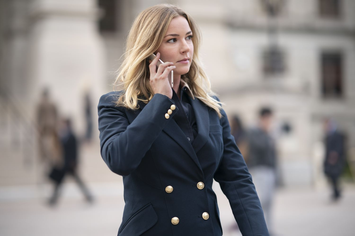 Emily VanCamp in 'The Falcon and the Winter Soldier'