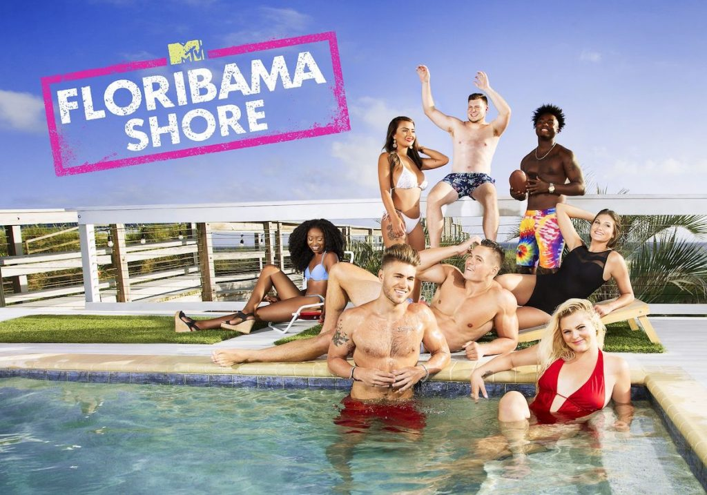'Floribama Shore' cast at the PCB house, which fans can rent