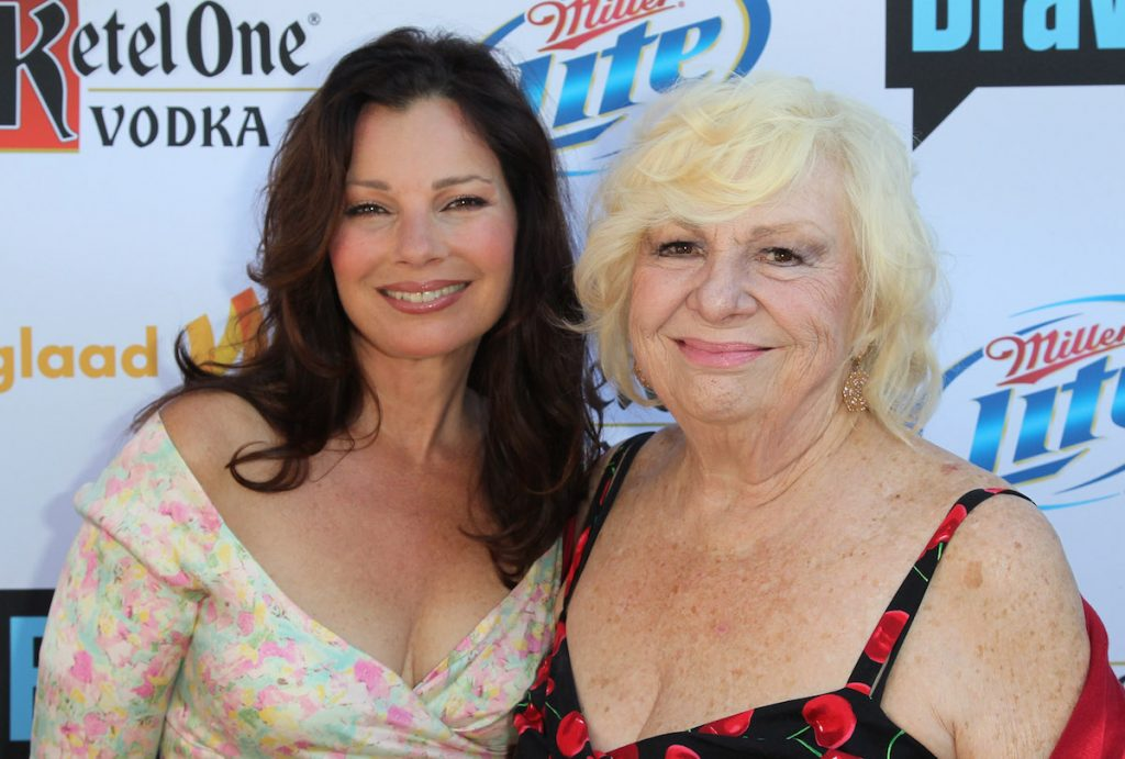 """Fran Drescher and Renee Taylor attends GLAAD's """"Bravo Top Chef Invasion"""" benefit event at a private residence on July 29, 2012 in Los Angeles, California."""