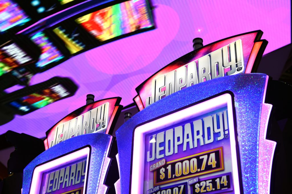 The set of the game show 'Jeopardy!'