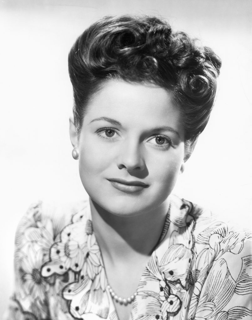 A headshot of Jo-Carroll Dennison, Miss America of 1942