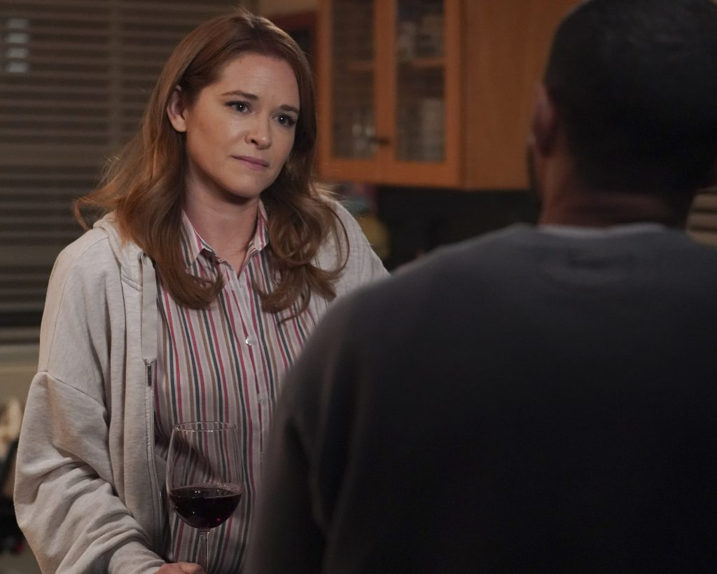 Greys Anatomy Look Up Child Season 17 Episode 14 with April Kepner