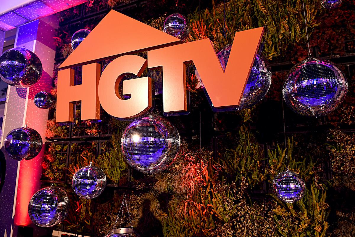 HGTV logo at an event in California