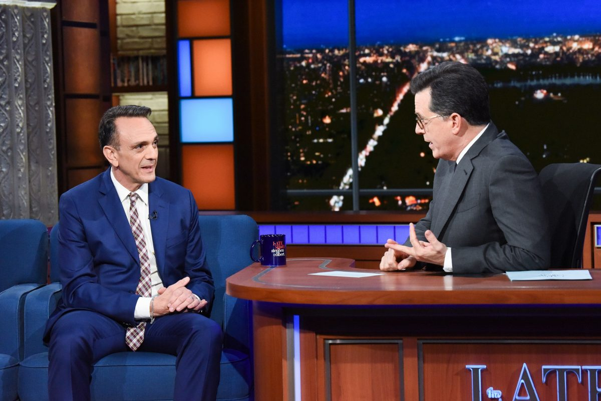 Hank Azaria tells Stephen Colbert he's willing to step aside from Apu