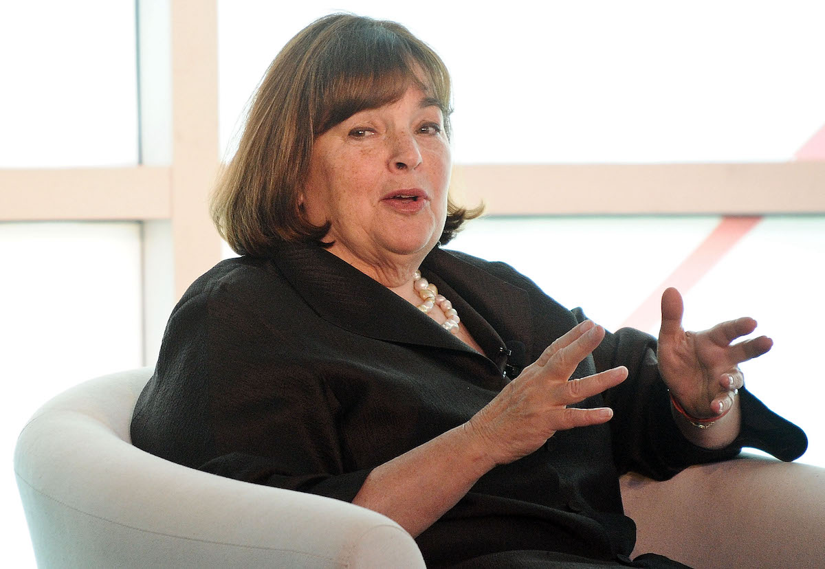 Ina Garten speaks at the 2015 Forbes Women's Summit