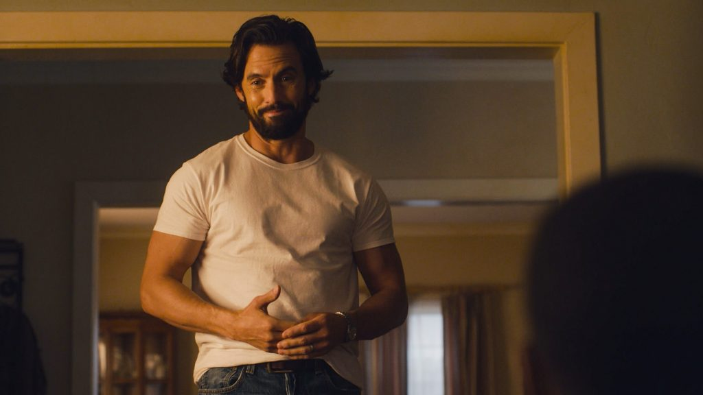 Jack on This Is Us played by Milo Ventimiglia