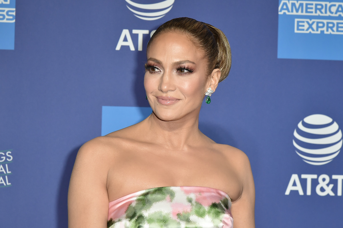 Jennifer Lopez attends the 31st Annual Palm Springs International Film Festival Gala in 2020