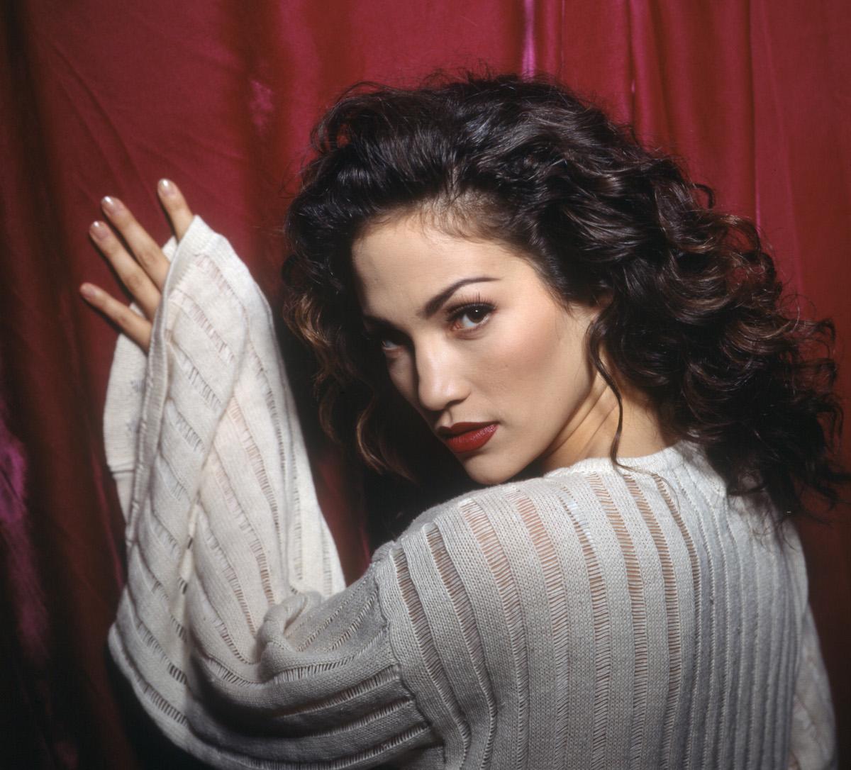 Jennifer Lopez as Melinda Lopez in the TV series 'Hotel Malibu' in 1994