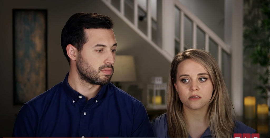 Jinger Duggar and Jeremy Vuolo in a 'Counting On' interview