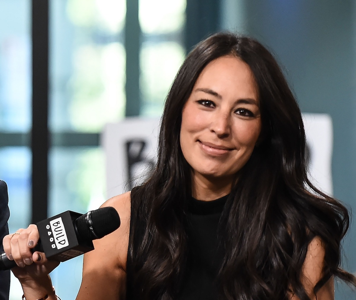 Joanna Gaines at the Build event for Chip Gaines' book Capital Gains