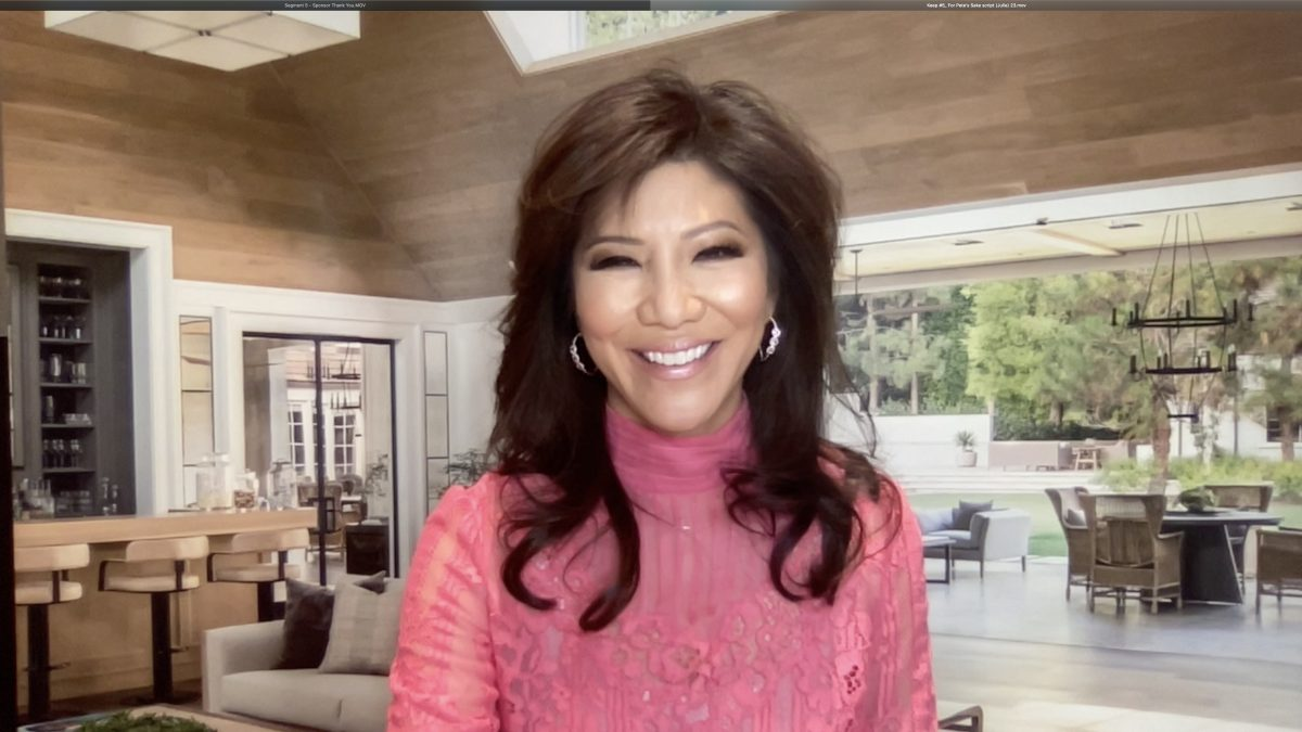Julie Chen attends For Pete's Sake Cancer Respite Foundation First Ever Virtual Experience