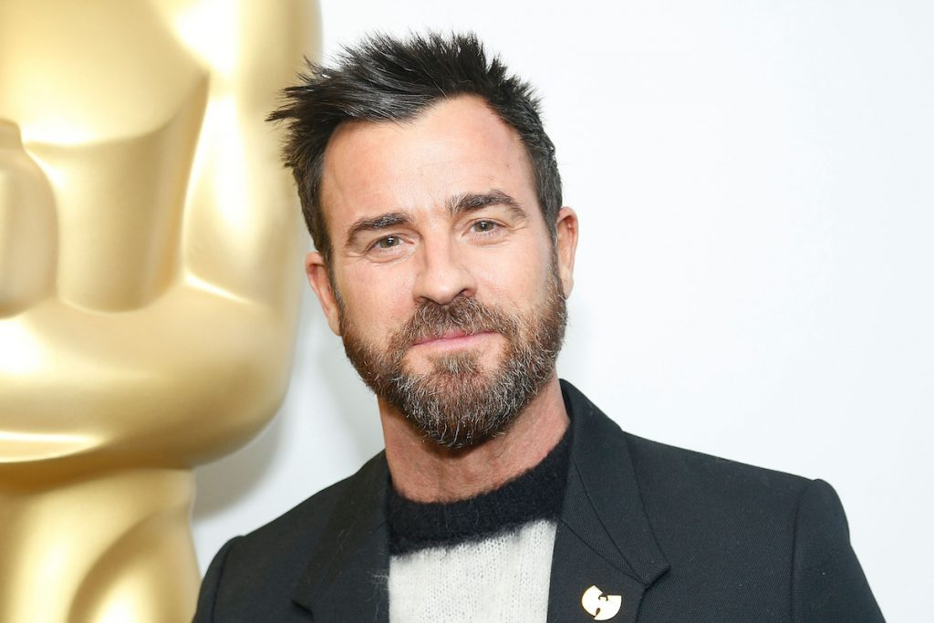 Actor Justin Theroux attends the Academy of Motion Pictures Arts and Sciences official Academy screening of 'On the Basis of Sex' at MoMA on December 13, 2018, in New York City