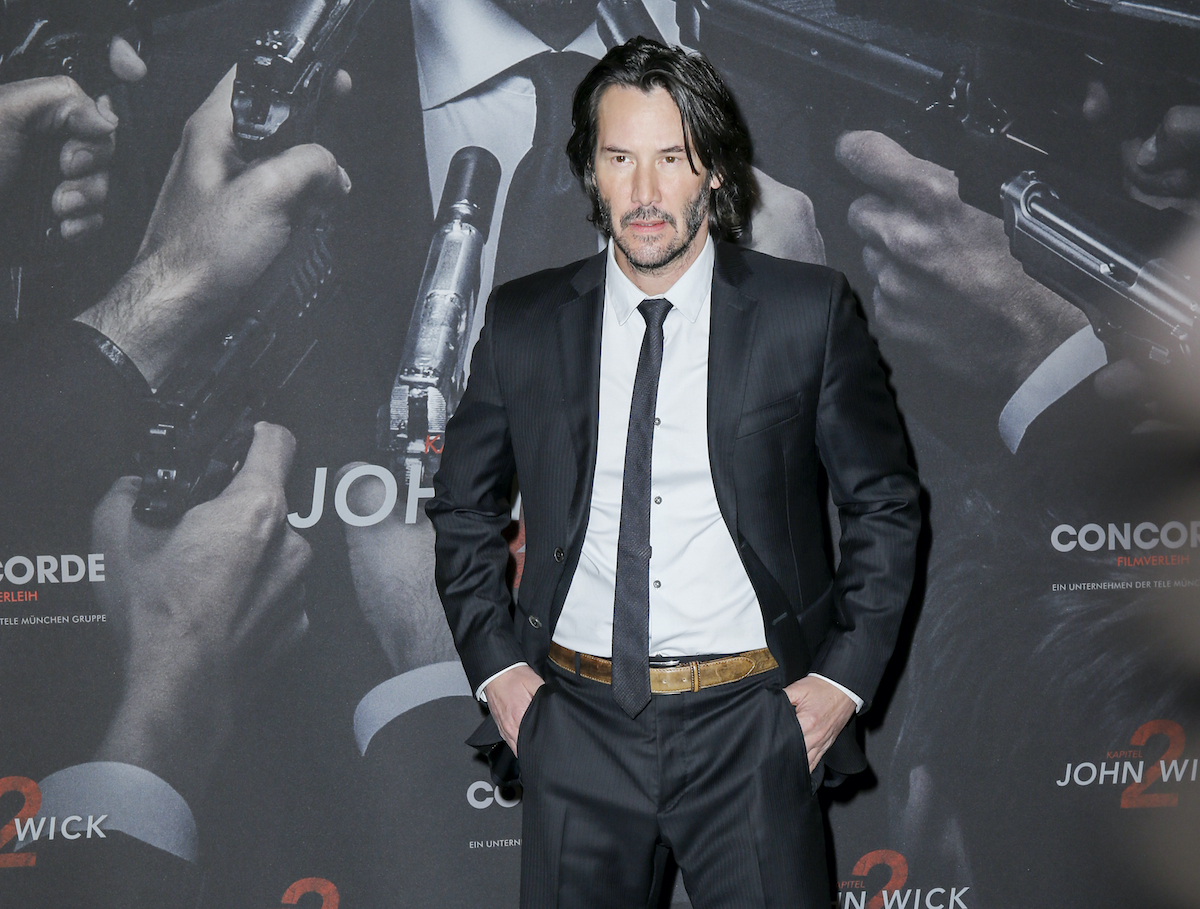 Keanu Reeves at the 'John Wick — Chapter 2' photocall in Berlin | Isa Foltin/Getty Images