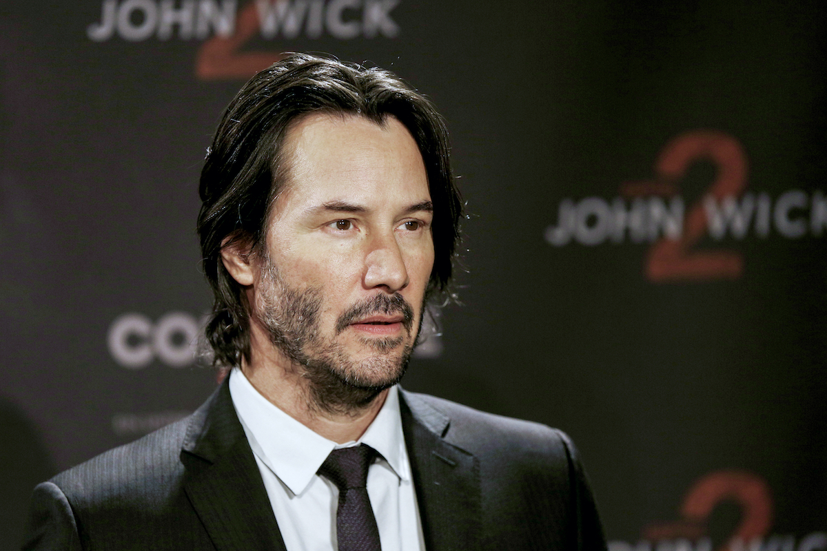 Keanu Reeves attends the 'John Wick — Chapter 2' photocall in 2017
