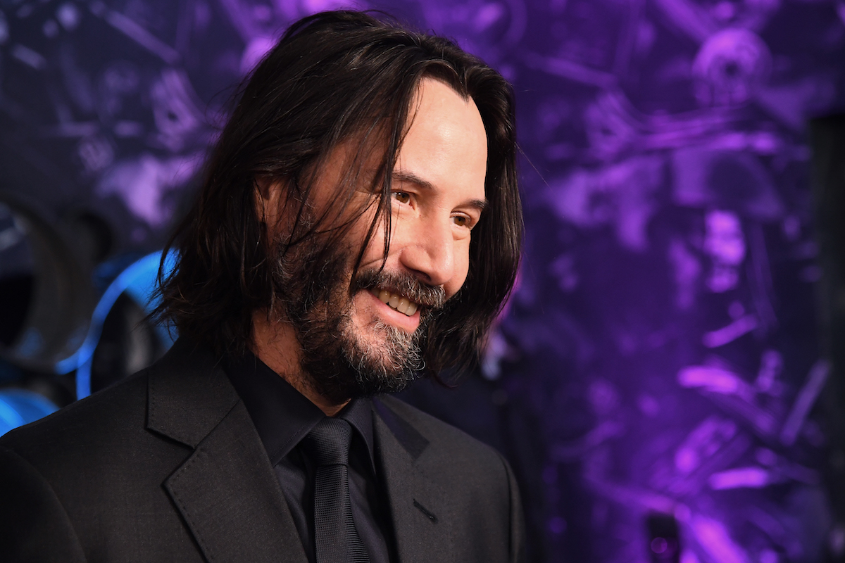 Keanu Reeves is already filming for John Wick 4