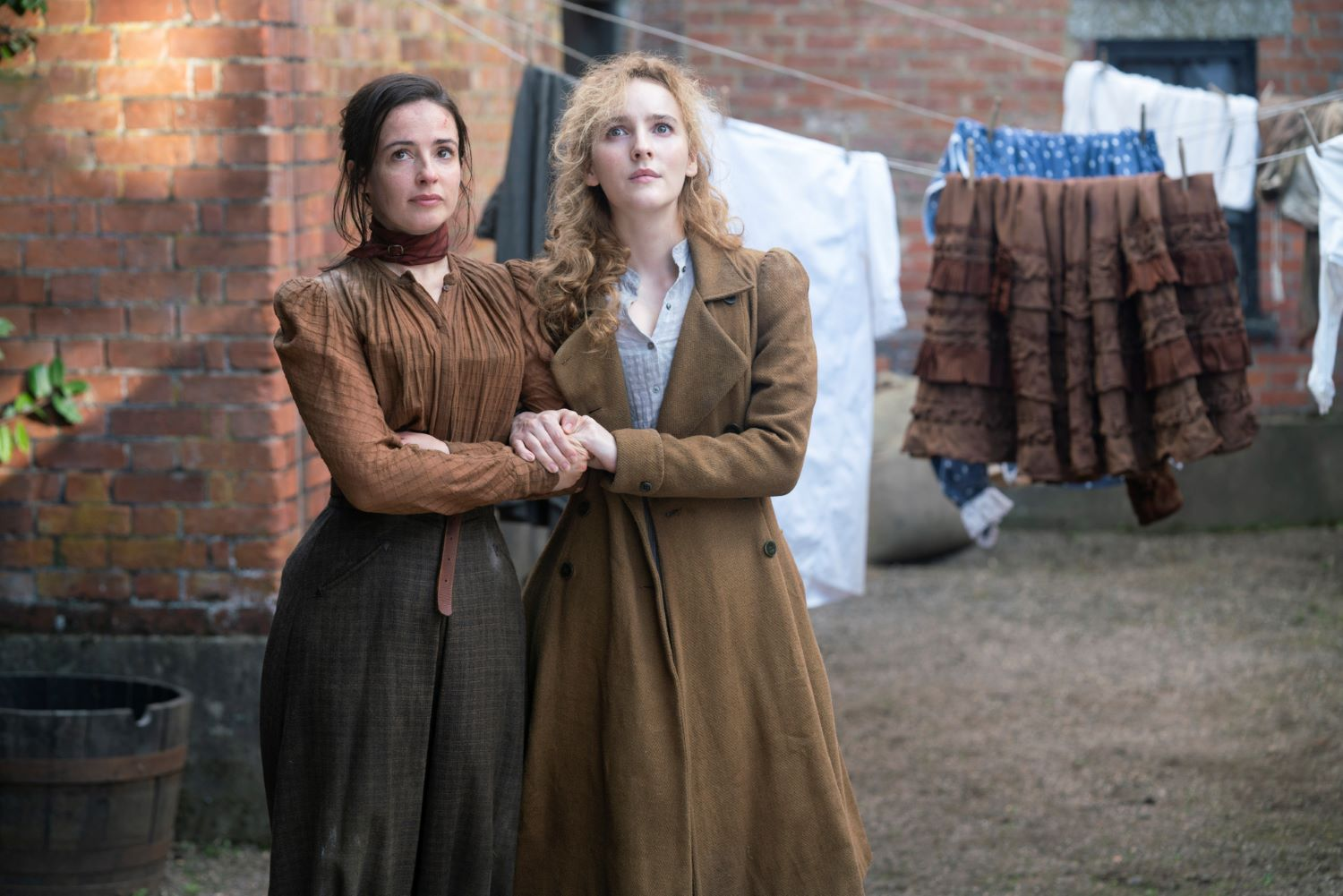 Laura Donnelly and Ann Skelly in 'The Nevers' on HBO