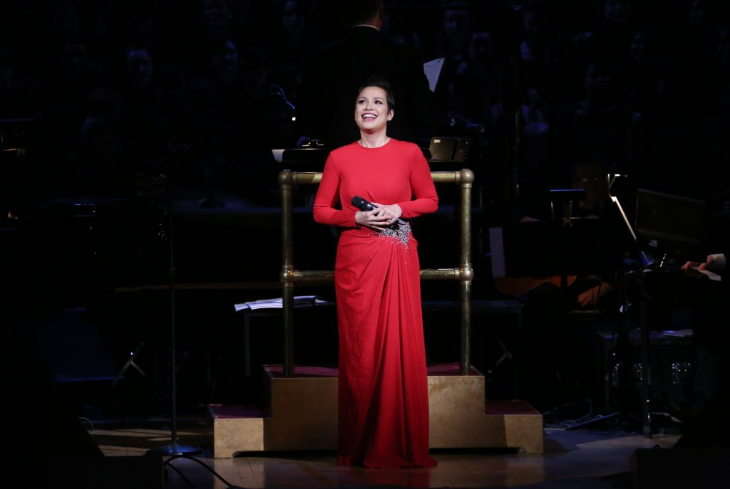 Lea Salonga during the Manhattan Concert Productions Broadway Classics in Concert