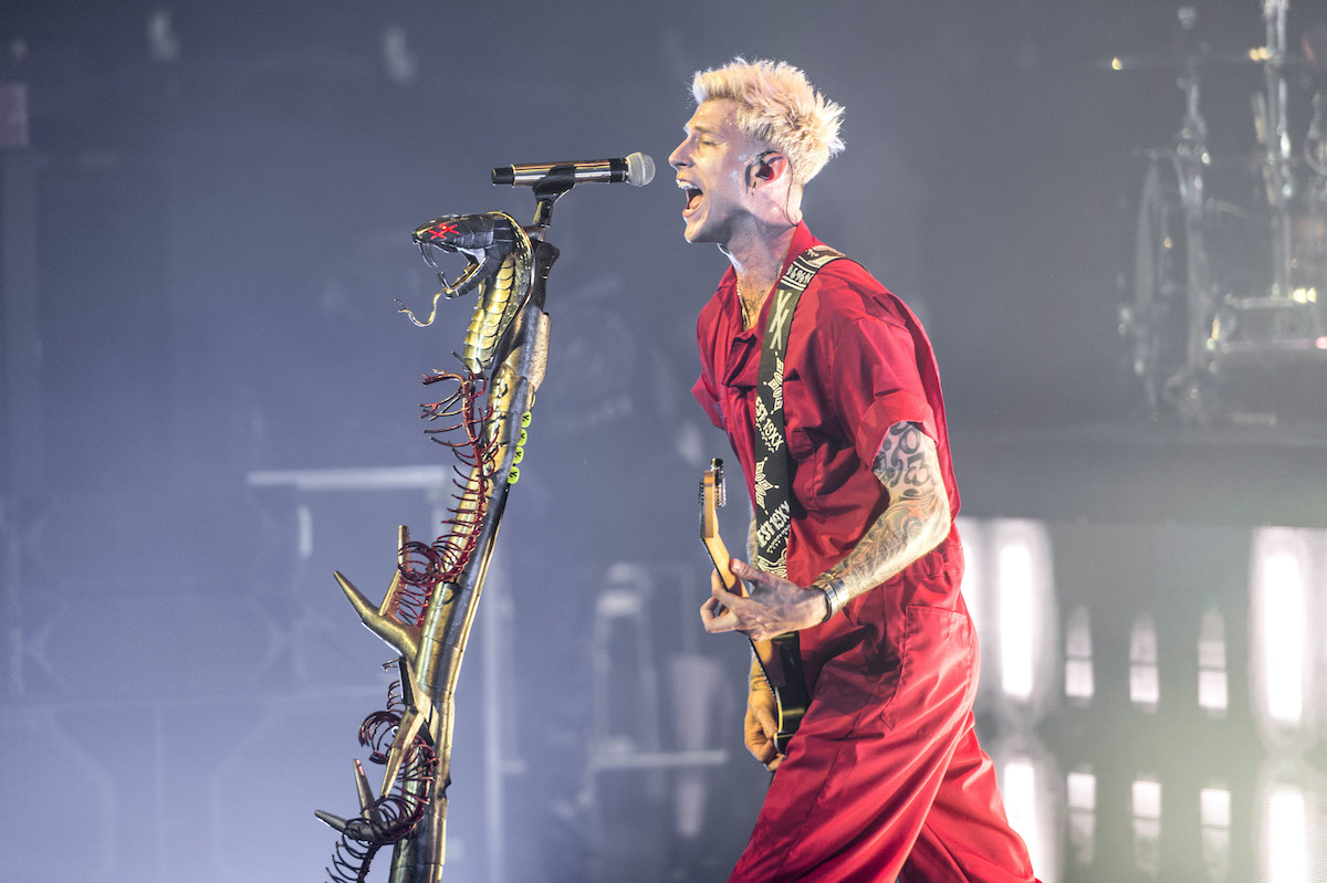 Machine Gun Kelly performs onstage at PlayStation Theater in 2019