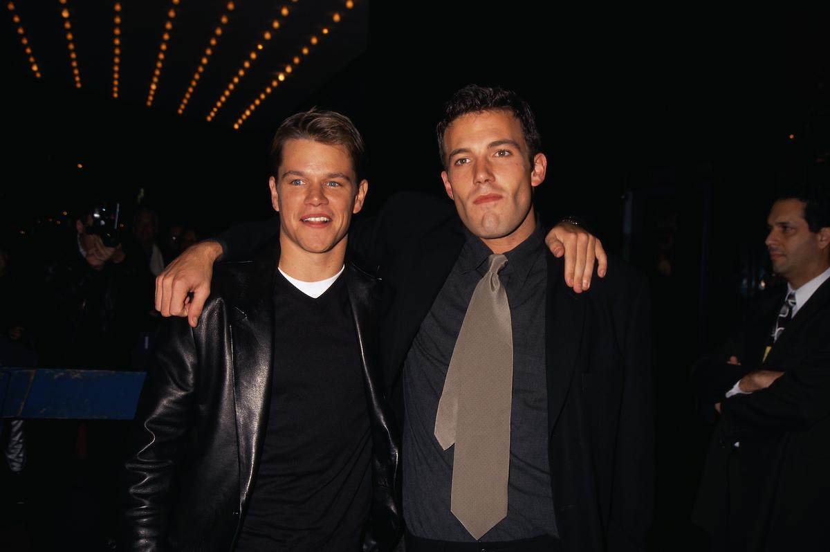 'Good Will Hunting' Screenwriters Matt Damon and Ben ...