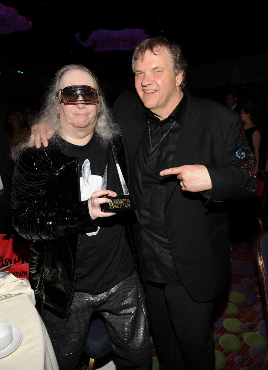 Meat Loaf points to Jim Steinman