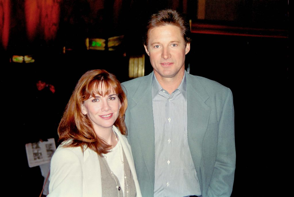 Melissa Gilbert and Bruce Boxleitner photographed together out on the town.