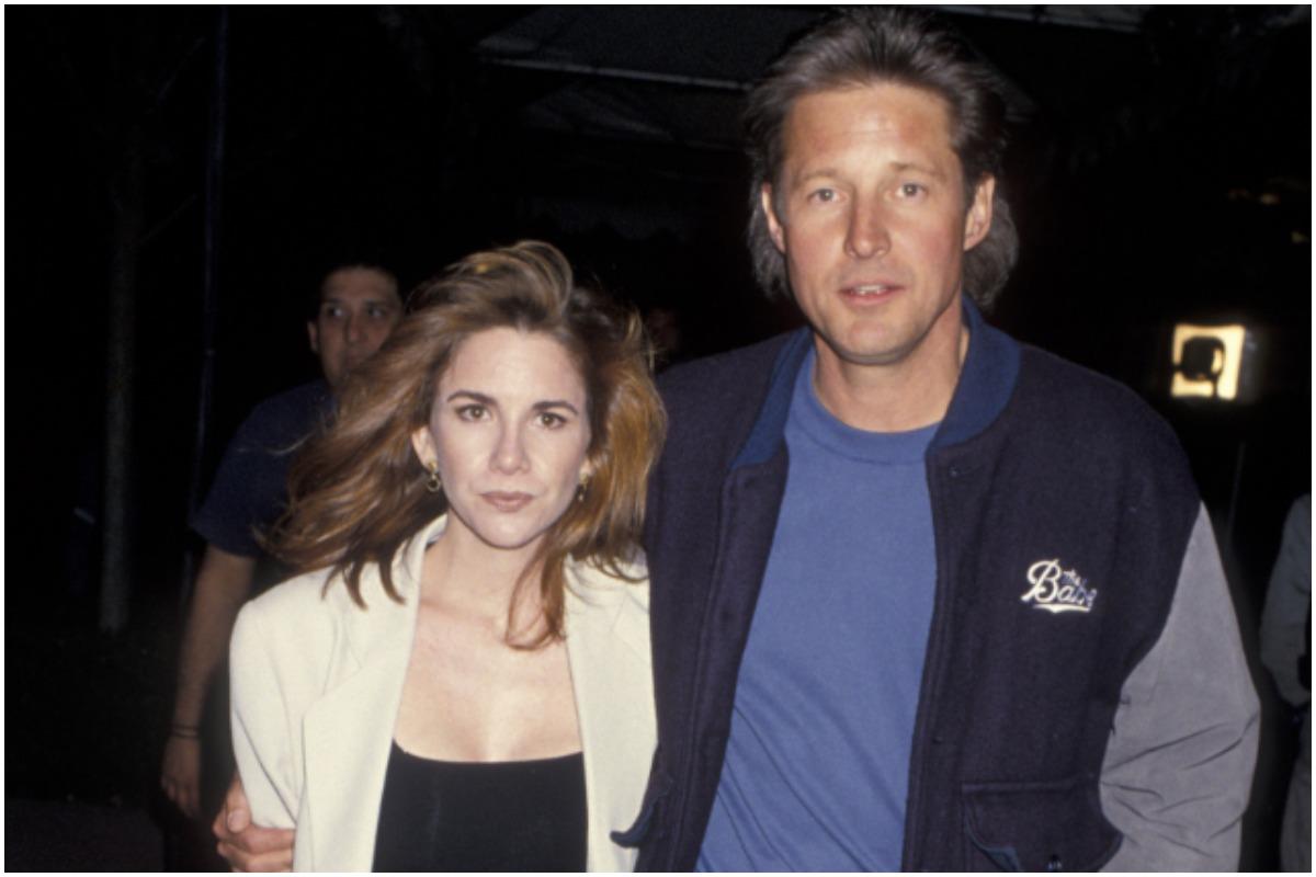 Melissa Gilbert attending an event with her ex-husband, Bruce Boxleitner