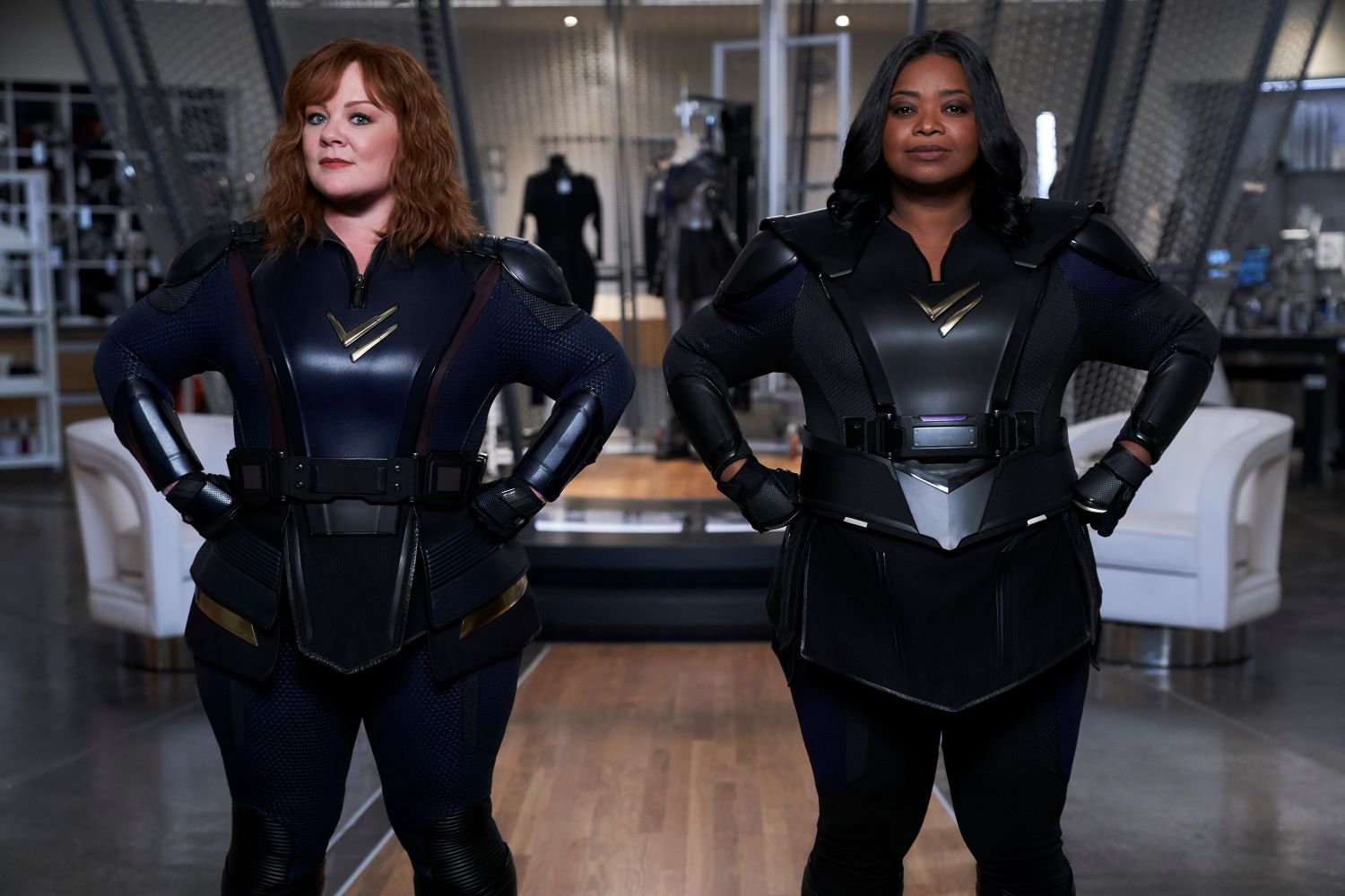 Melissa McCarthy and Octavia Spencer in 'Thunder Force'