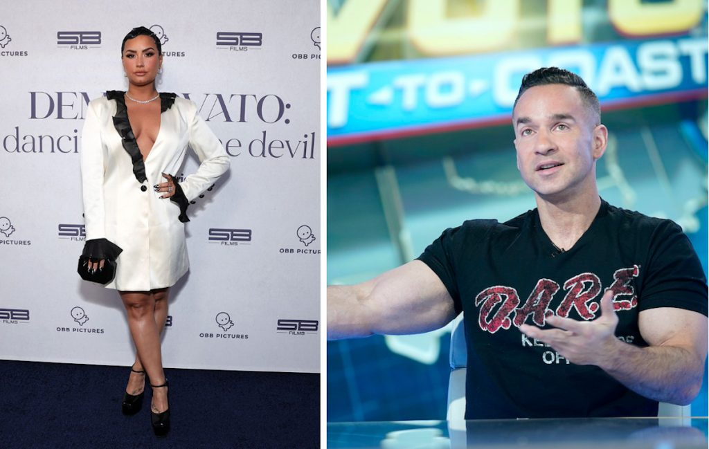 Mike 'The Situation' Sorrentino, who is 5 years sober and ready to help Demi Lovato with her sobriety