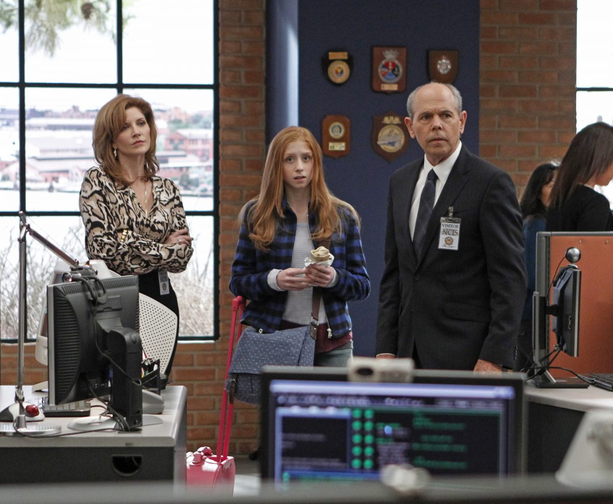 'NCIS' stars Diane Sterling, Juliette Angelo and Joe Spano in 2013