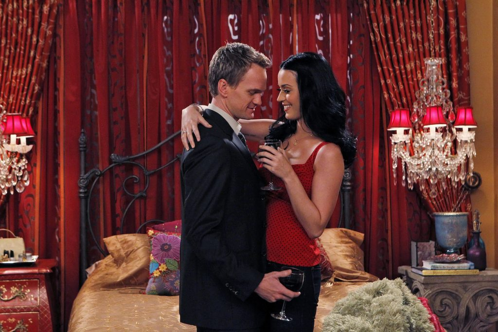 Neil Patrick Harris dancing with Katy Perry