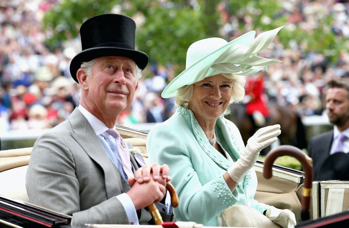 Prince Charles and Camilla, Duchess of Cornwall attend the Royal Ascot