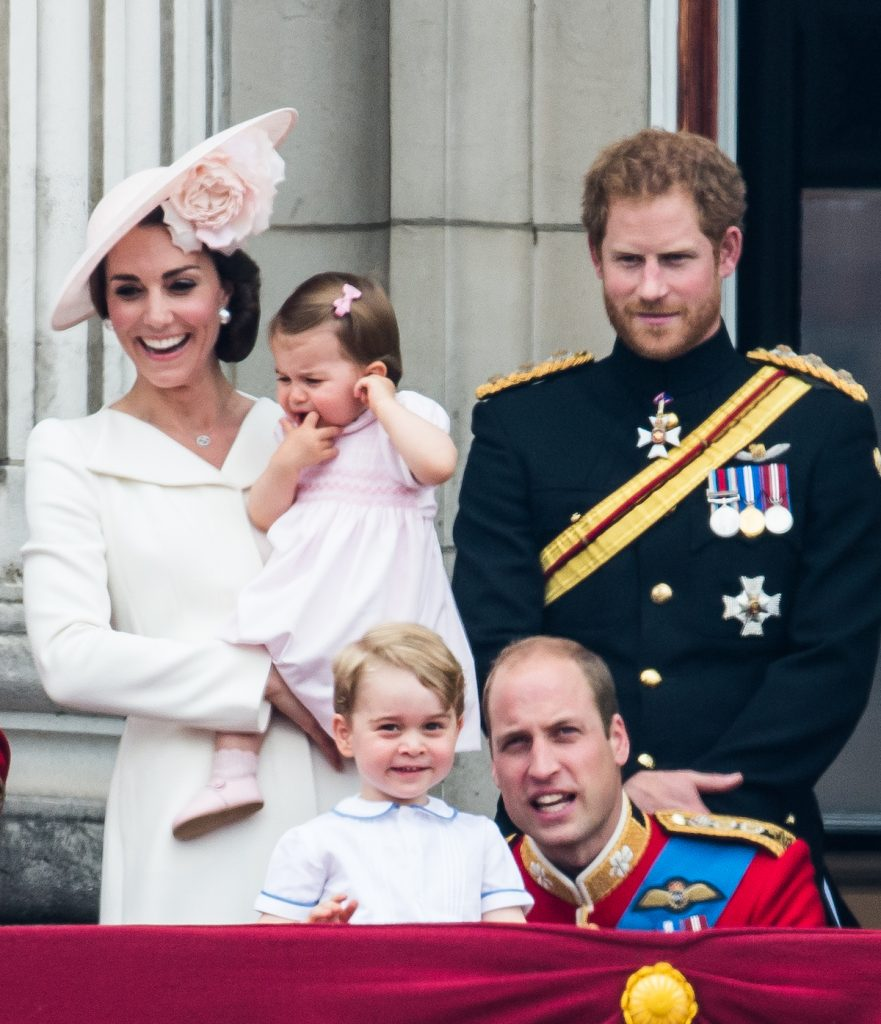Catherine, Duchess of Cambridge, Princess Charlotte, Prince George, Prince Harry, Prince William, Duke of Cambridge