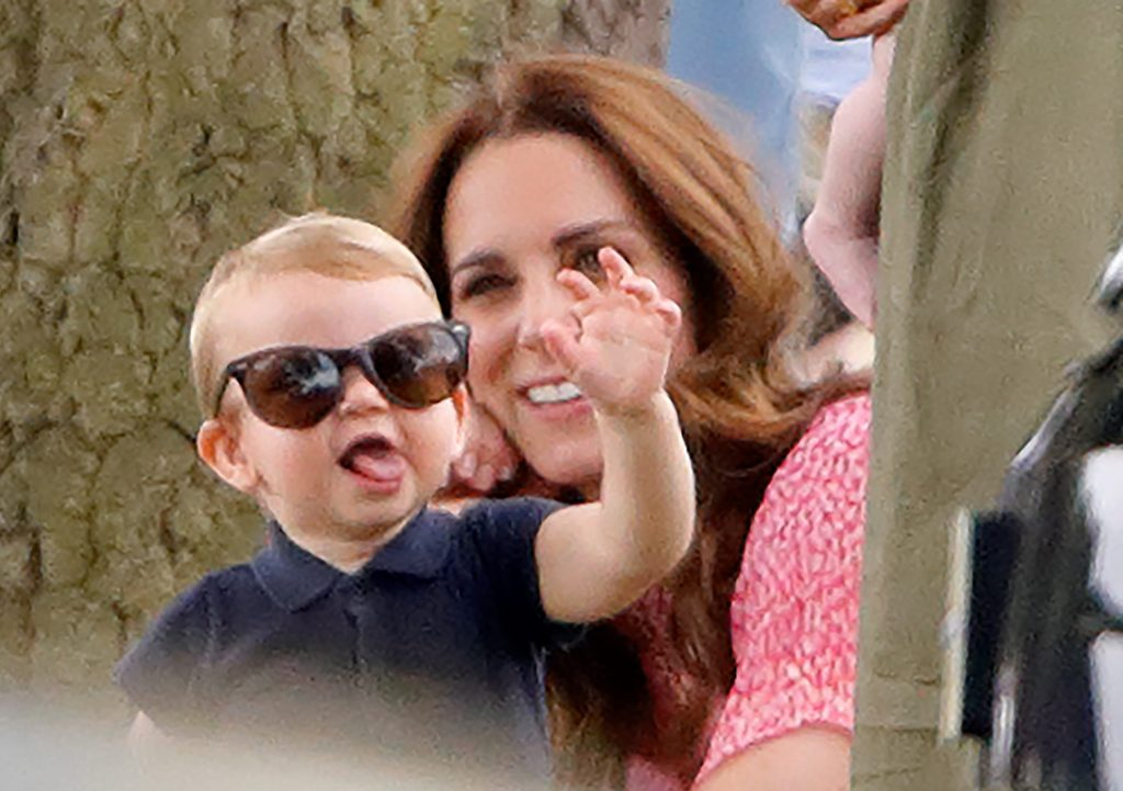 Prince Louis in sunglasses at Polo Club where his dad Prince William was competing in a match