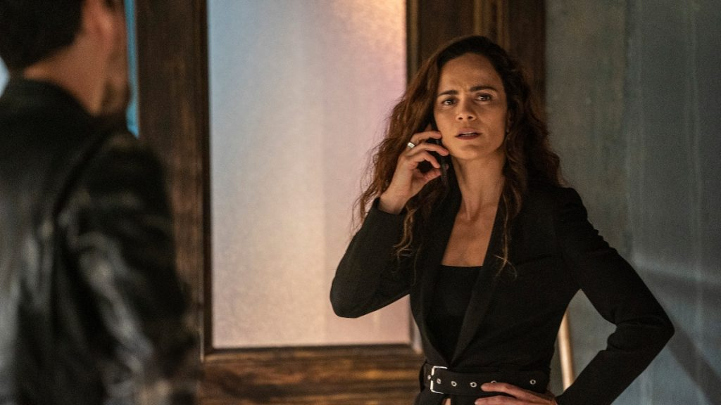 'Queen of the South' Season 5 with Alice Braga as Teresa and Peter Gadiot as James