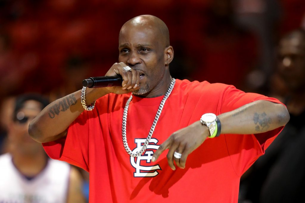 Rapper DMX performing at event in Chicago